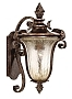 Traditional Pirouette Collection 19 1/2 High Outdoor Wall Light