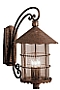 Country Cottage Kichler Distressed Copper 22 1/2 High Outdoor Wall Light