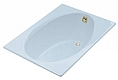 Kohler - K-770-6 - PRISTINE 5' BATHTUB Cast Iron Tub with Safeguard Finish